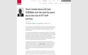 Ovum prevé pérdidas multimillonarias en un corto espacio de tiempo (2014-2018) para las empresas telefónicas por los abruptos cambios en el sector