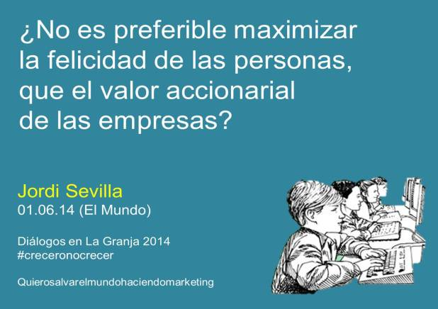 Jordi Sevilla en su columna en el diario El Mundo