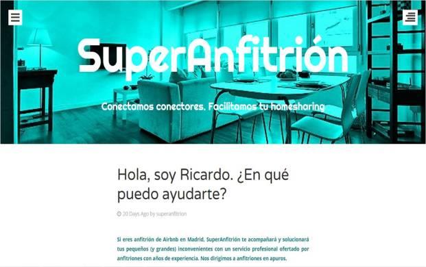 Hola, soy Ricardo, tu superanfitrión :-)